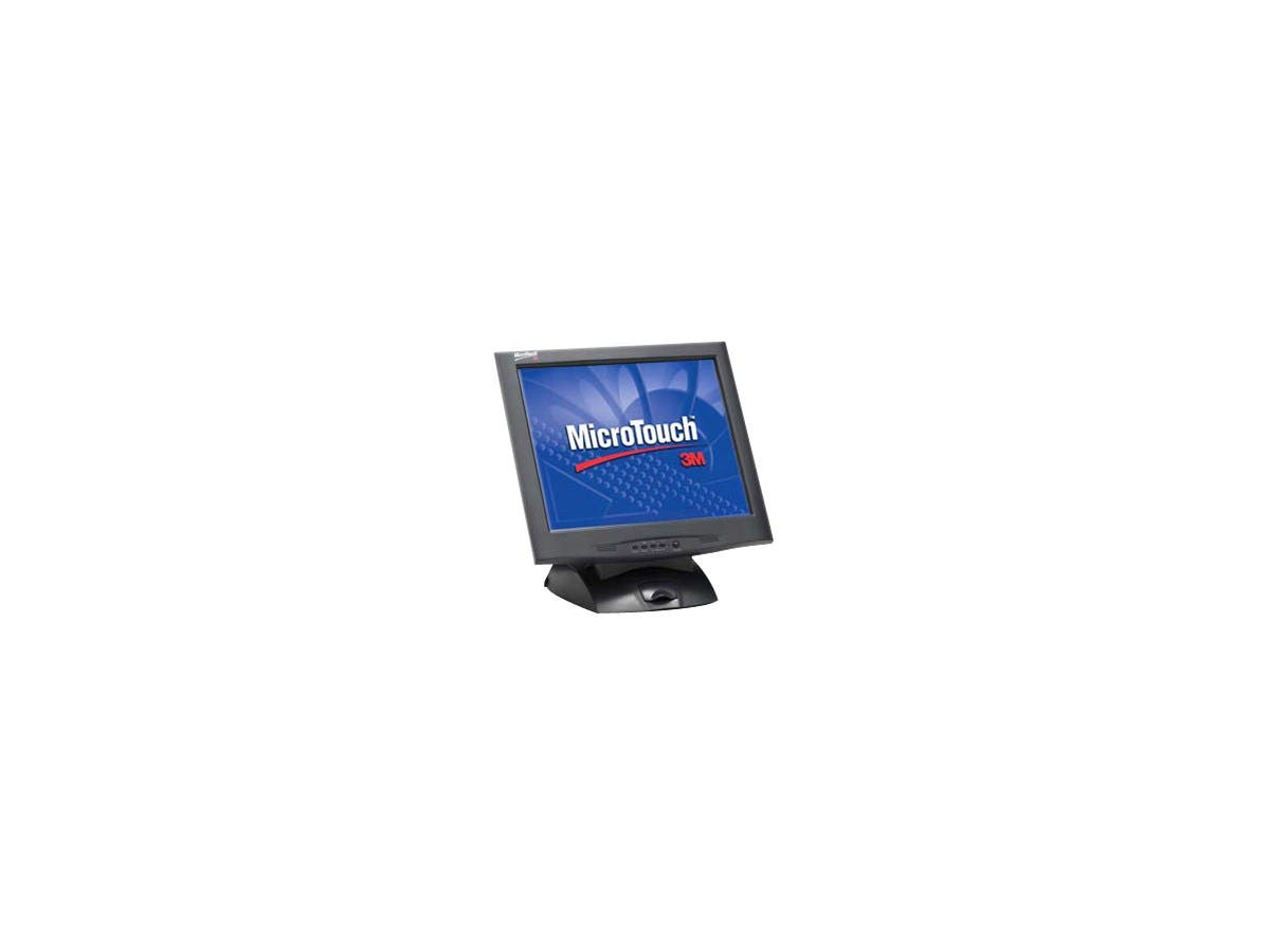 "3M MicroTouch M1700SS Touchscreen LCD Monitor - 17"" - Capacitive - 1280 x 1024 - 0.264mm - Black"