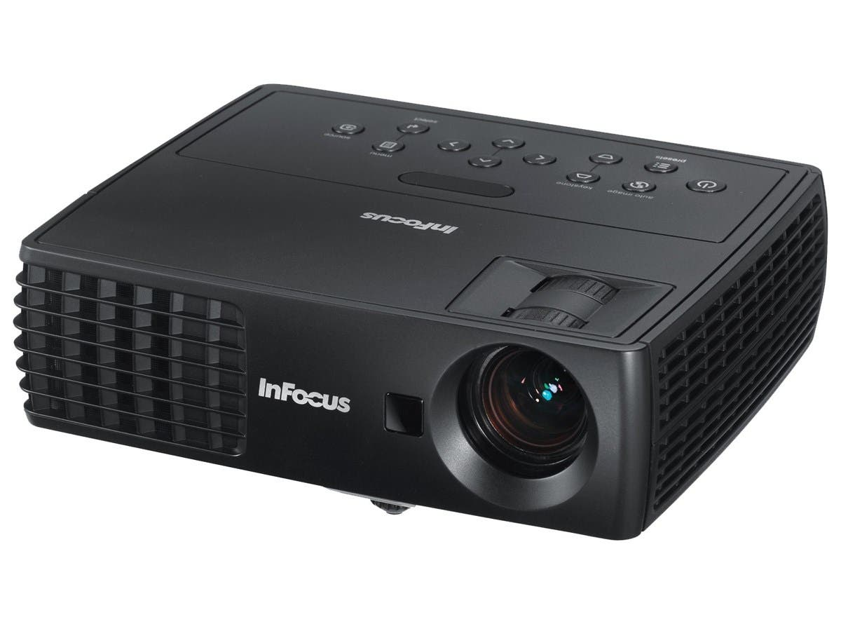 InFocus IN1116 3D Ready DLP Projector - 720p - HDTV - 16:10 - Front - 170 W - 6000 Hour Normal Mode - 10000 Hour Economy Mode - 1280 x 800 - WXGA - 4,000:1 - 2200 lm - HDMI - USB - 1 Year Warranty