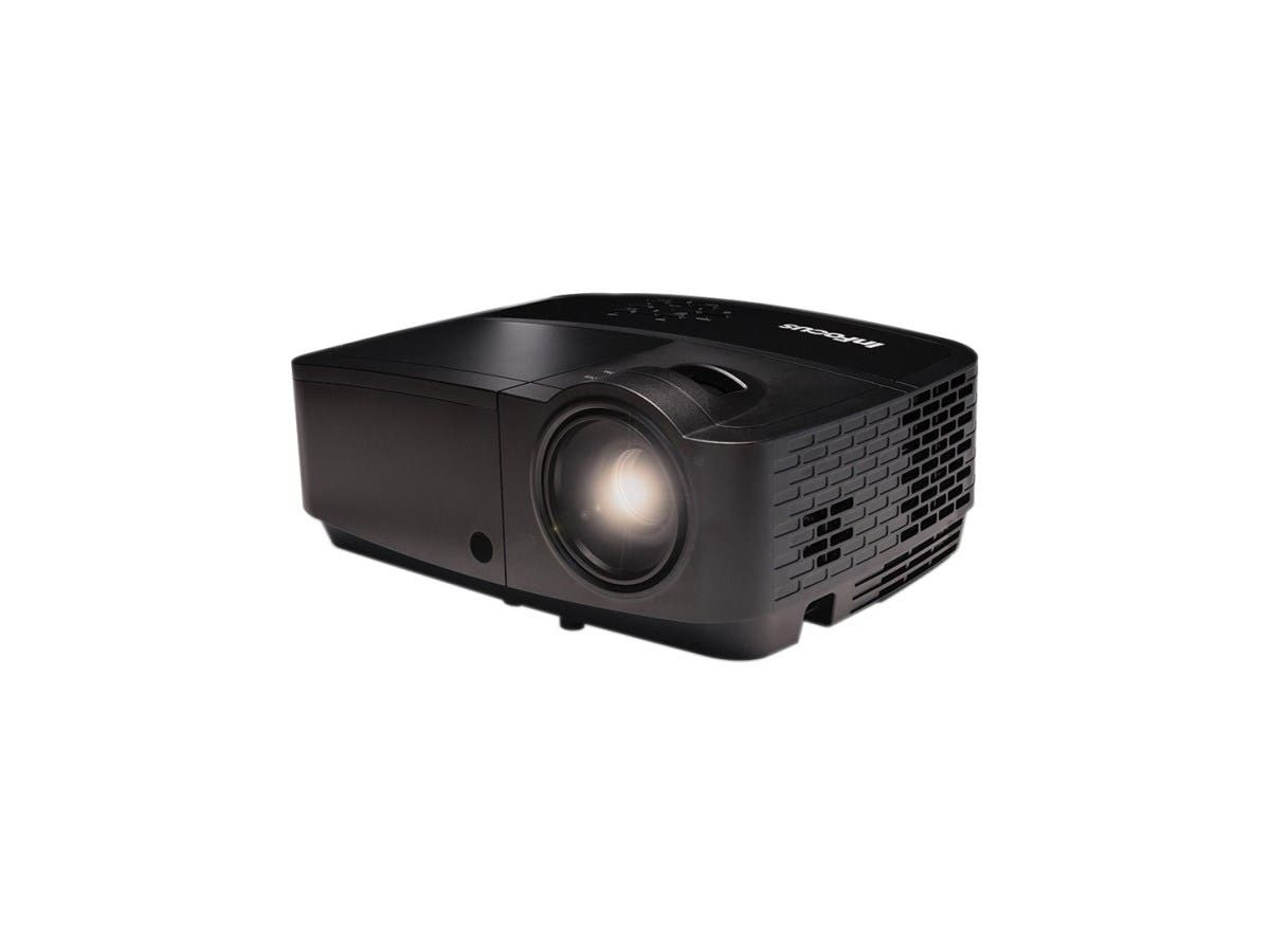InFocus IN128HDx 3D Ready DLP Projector - 1080p - HDTV - 16:9 - Front, Ceiling - 2000 Hour Normal Mode - 5000 Hour Economy Mode - 1920 x 1080 - Full HD - 15,000:1 - 4000 lm - HDMI - USB