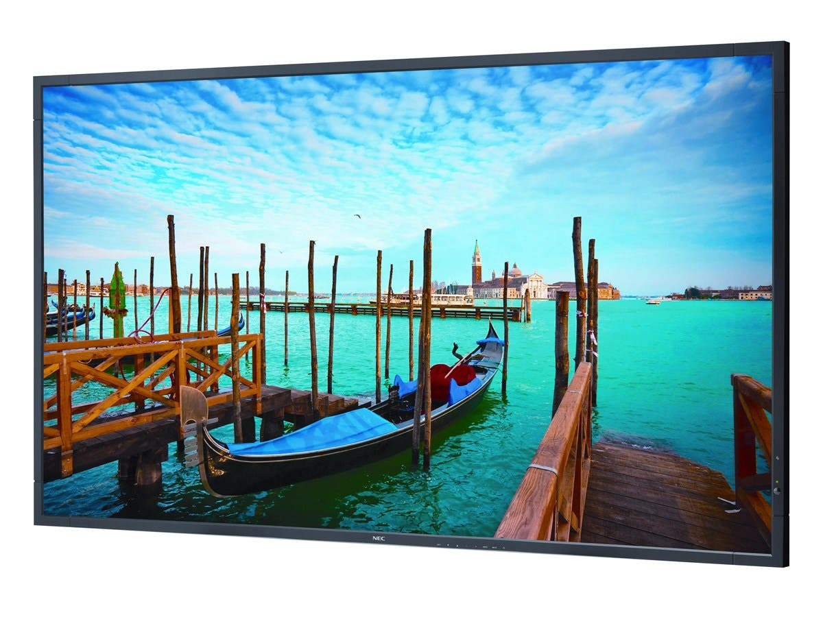"NEC Display V552 55"" LED LCD Monitor - 16:9 - 8 ms - 1920 x 1080 - 16.7 Million Colors - 450 Nit - 4,000:1 - Full HD - Speakers - DVI - HDMI - VGA - DisplayPort - 100 W-Large-Image-1"