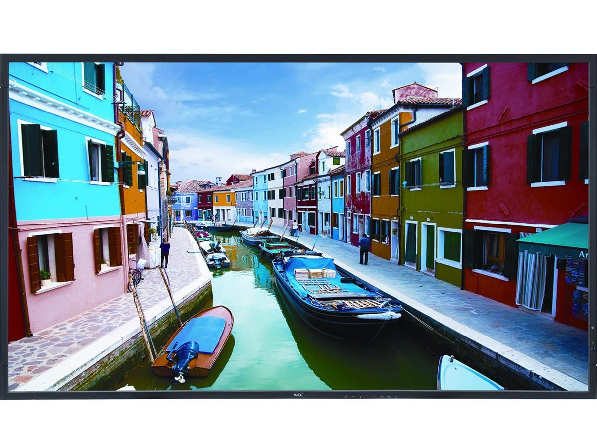 "NEC Display V463-AVT 46"" 1080p LED-LCD TV Commercial Display - 16:9 - HDTV 1080p - ATSC - 178° / 178° - 1920 x 1080 - 20 W RMS - LED - Ethernet"