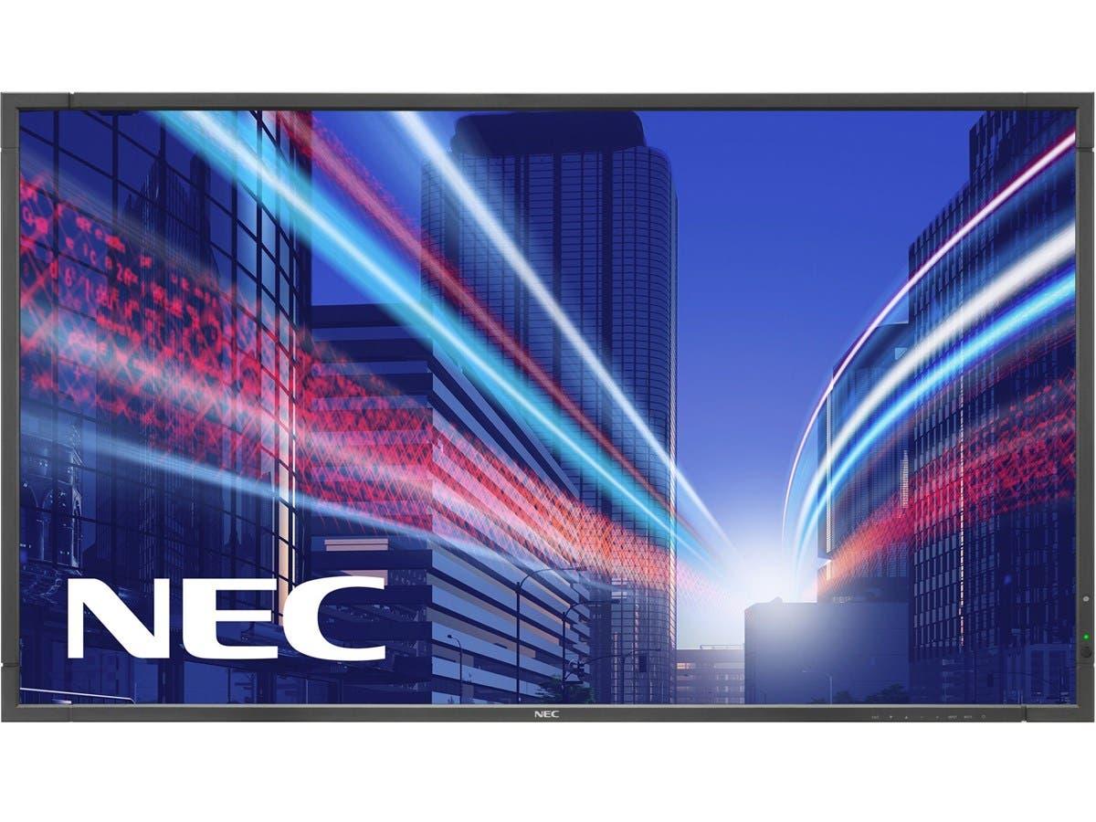 "NEC Display E905 90"" LED Backlit Commercial-Grade Display - 90"" LCD - 1920 x 1080 - Direct LED - 350 Nit - 1080p - HDMI - USB - DVI - SerialEthernet-Large-Image-1"