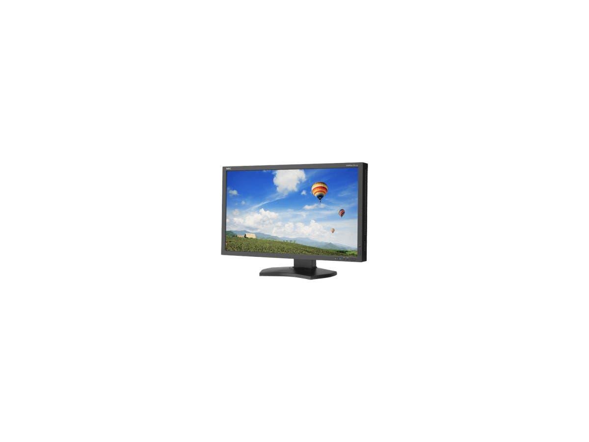 "NEC Monitor MultiSync PA272W-BK-SV 27"" GB-R LED LCD Monitor - 16:9 - 6 ms - Adjustable Monitor Angle - 2560 x 1440 - 1.07 Billion Colors - 340 Nit - 1,000:1 - WQHD - DVI - HDMI - MonitorPort - USB"