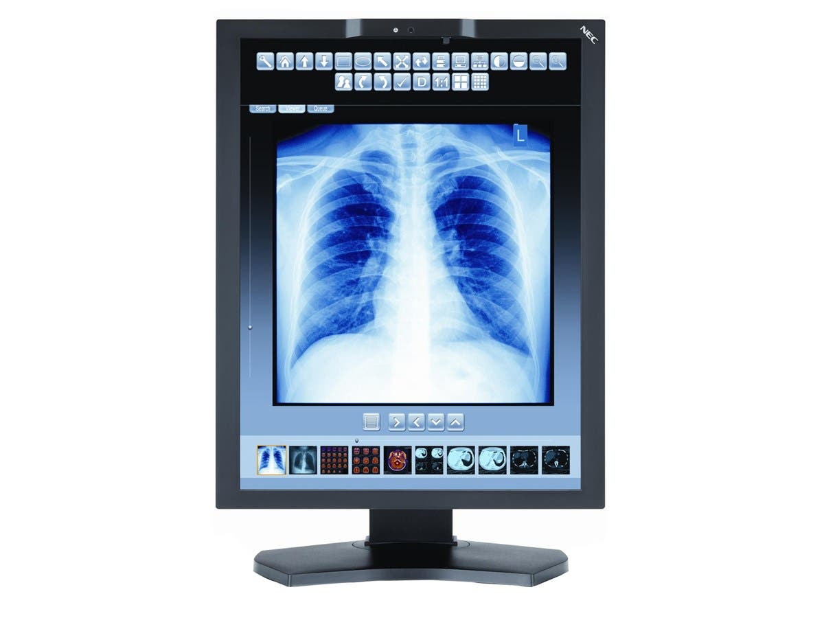 "NEC Display MD211C3 21.3"" LED LCD Monitor - 20 ms - Adjustable Display Angle - 2048 x 1536 - 1.07 Billion Colors - 800 Nit - 1,400:1 - DVI - DisplayPort - USB - 85 W - RoHS, WEEE"