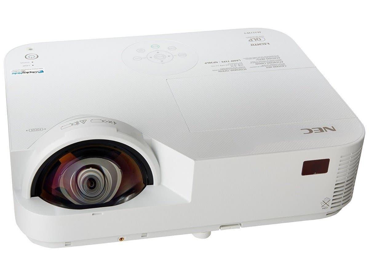 NEC NP-M353WS 3500 Lumen WXGA DLP Projector-Large-Image-1