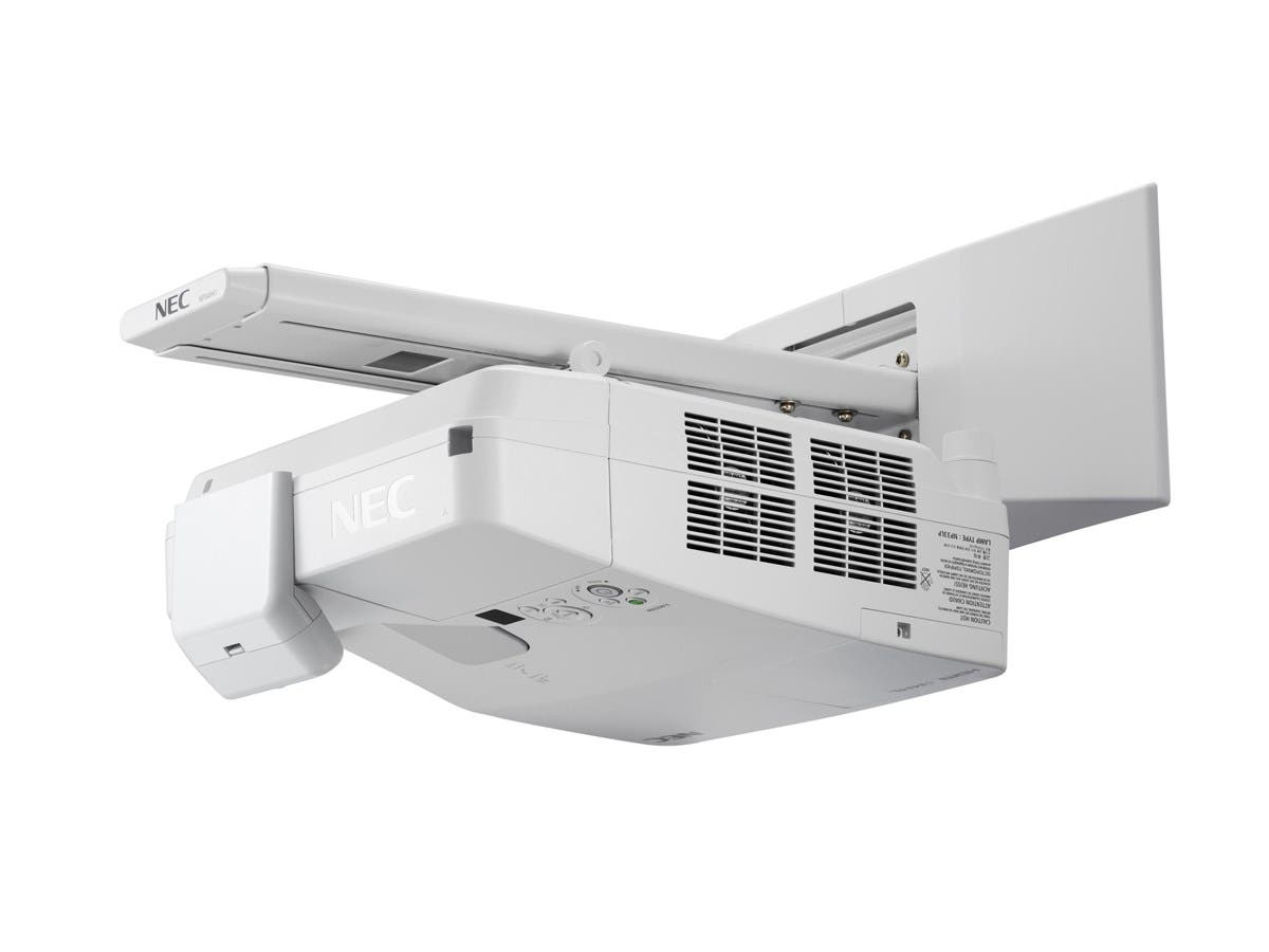 NEC Display NP-UM361X LCD Projector - 720p - HDTV - 4:3 - Front, Rear, Ceiling - Interactive - AC - 255 W - 3800 Hour Normal Mode - 6000 Hour Economy Mode - 1024 x 768 - XGA - 4,000:1 - 3600 lm-Large-Image-1