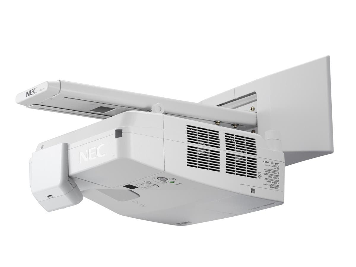 NEC Display NP-UM361Xi LCD Projector - 720p - HDTV - 4:3 - Front, Rear, Ceiling - Interactive - AC - 255 W - 3800 Hour Normal Mode - 6000 Hour Economy Mode - 1024 x 768 - XGA - 4,000:1 - 3600 lm-Large-Image-1