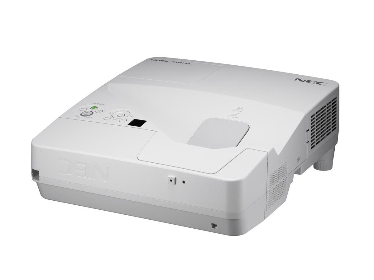 NEC Display NP-UM351W LCD Projector - 720p - HDTV - Front, Rear, Ceiling - Interactive - AC - 255 W - 3800 Hour Normal Mode - 6000 Hour Economy Mode - 1200 x 800 - WXGA - 4,000:1 - 3500 lm