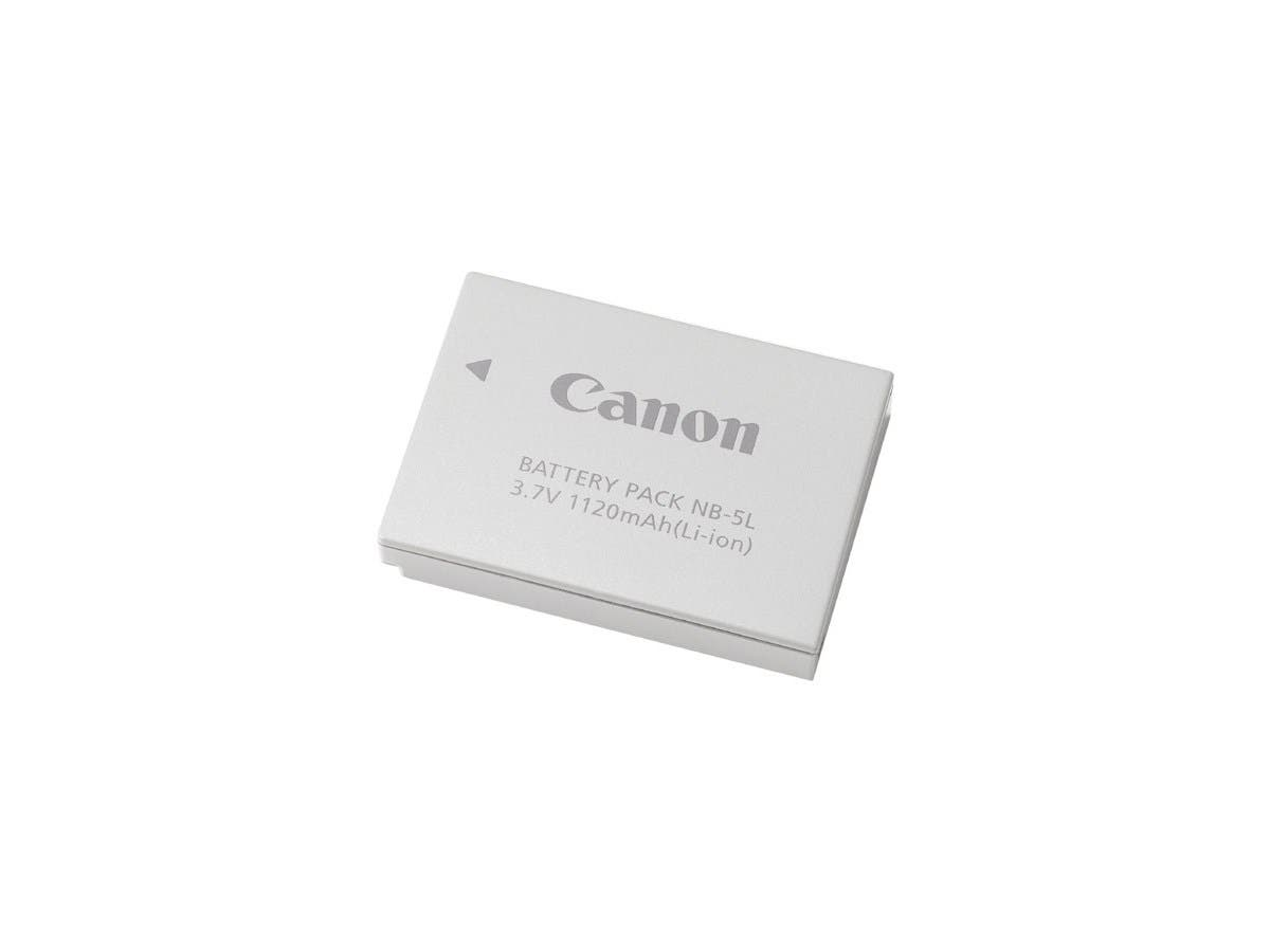 Canon NB-5L Lithium-Ion Digital Camera Battery - Lithium Ion (Li-Ion) - 3.7V DC-Large-Image-1