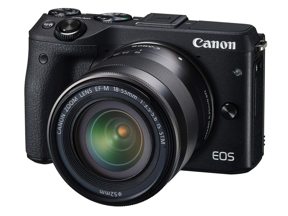 Canon EOS M3 9694B011 Black Mirrorless Digital Camera with 18-55mm Lens