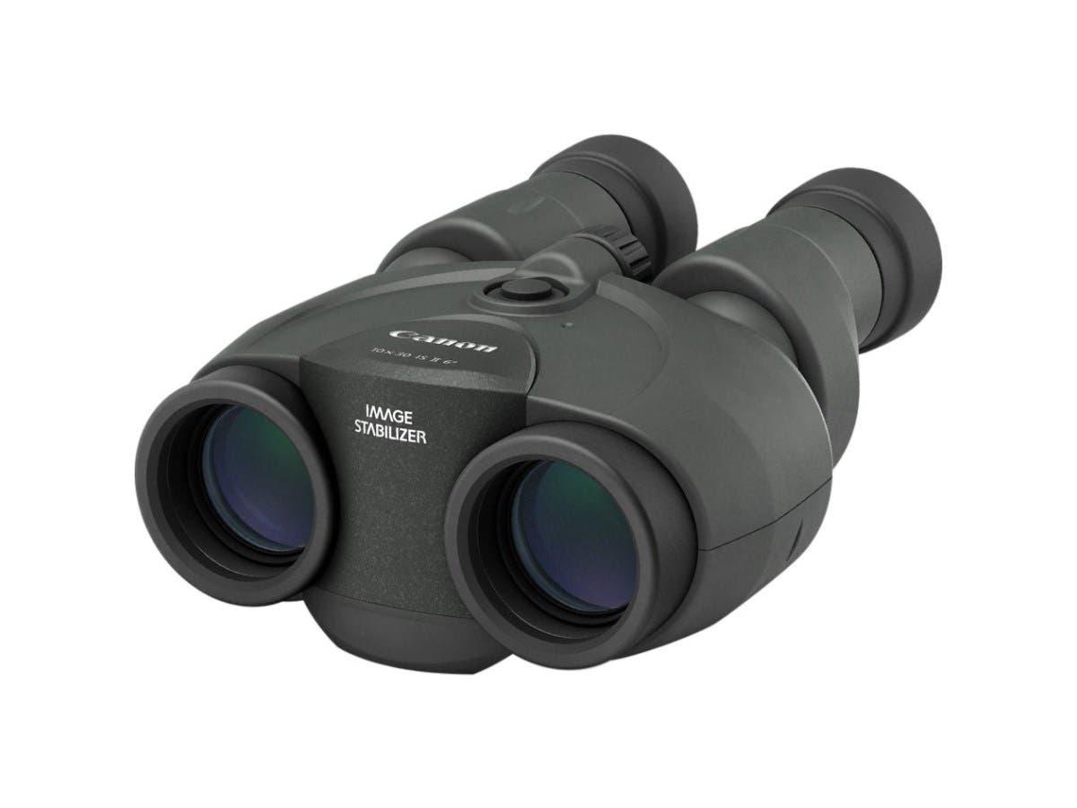 Canon 10 x 30 IS II Binocular - 10x 30 mm - Porro II - Optical - Diopter Adjustment-Large-Image-1