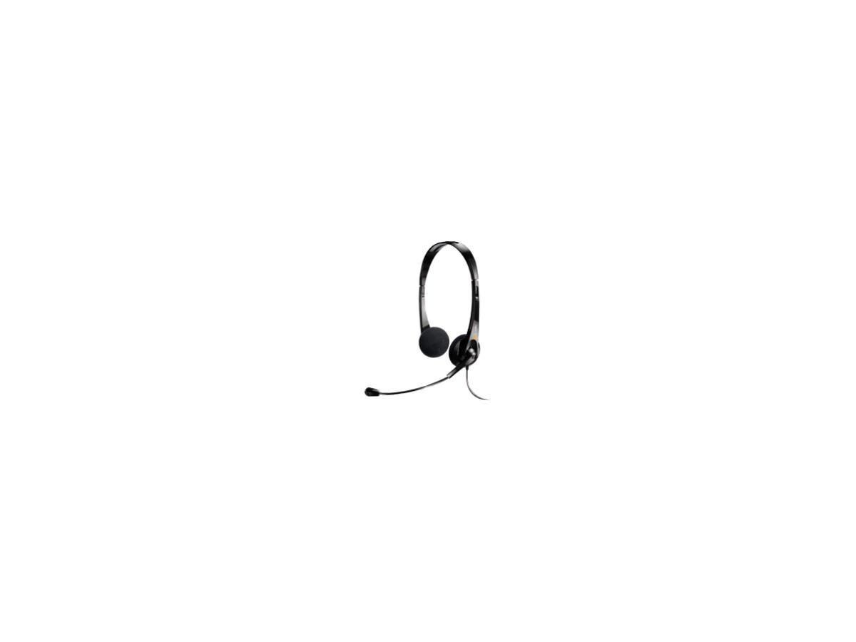 ClearOne CHAT 10D Headset - Stereo - USB - Wired - Over-the-head - Binaural - Semi-open - Noise Cancelling Microphone