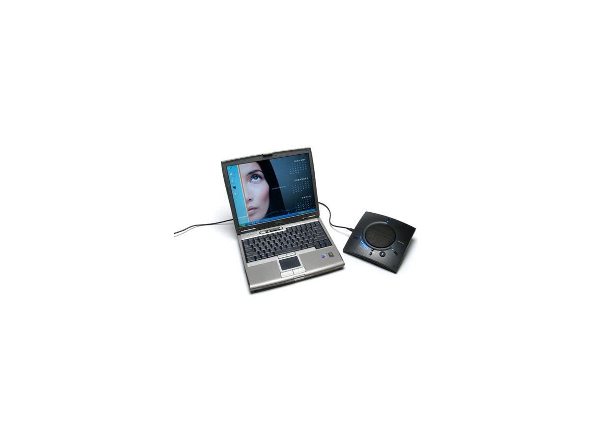 ClearOne CHAT 50 USB Speaker Phone - 1 x Mini Type B , 1 x RJ-45 10/100Base-TX-Large-Image-1