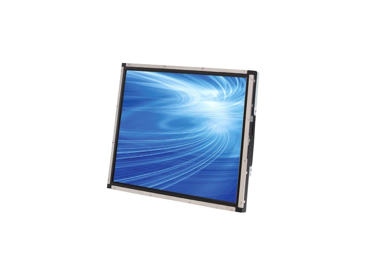 "Elo 1939L 19"" Open-frame LCD Touchscreen Monitor E215546 - 5:4 - 25 ms - Surface Acoustic Wave - 1280 x 1024 - SXGA - 1,000:1 - 250 Nit - USB - VGA - Steel, Black - RoHS - 3 Year"