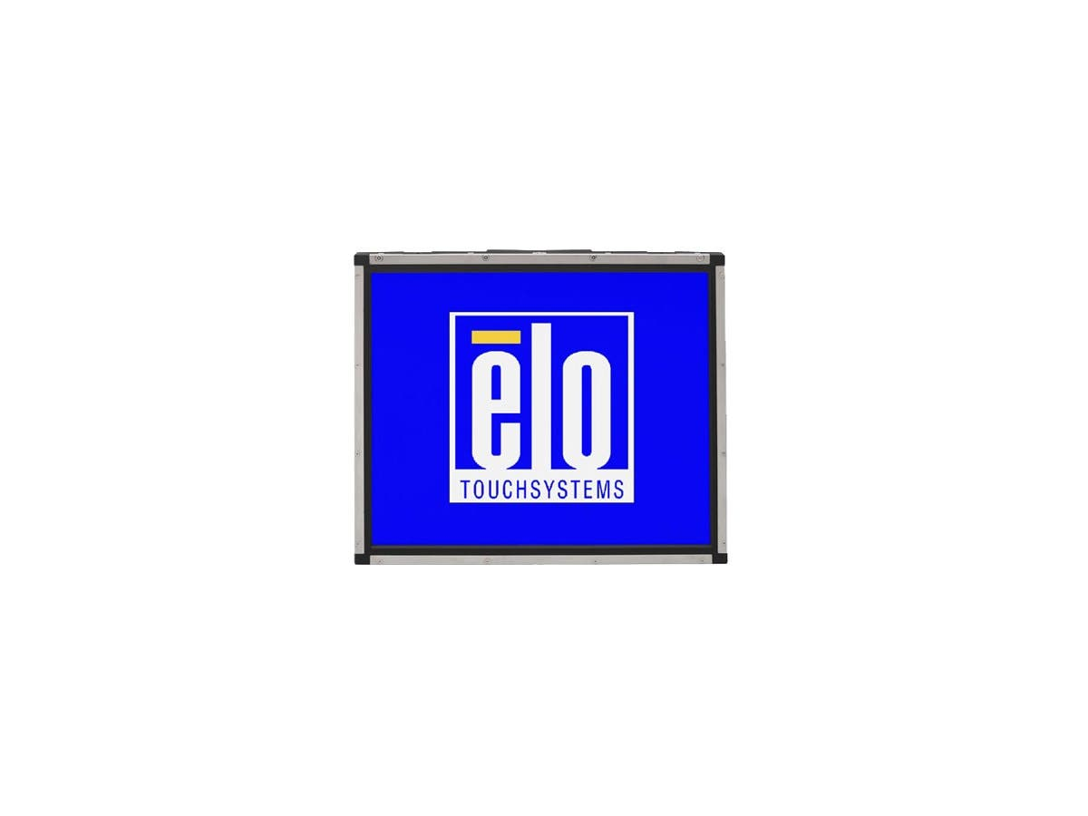 "Elo 1937L 19"" Open-frame LCD Touchscreen Monitor E896339 - 5:4 - 10 ms - Surface Acoustic Wave - 1280 x 1024 - SXGA - 800:1 - 250 Nit - USB - VGA - Steel, Black - 3 Year"