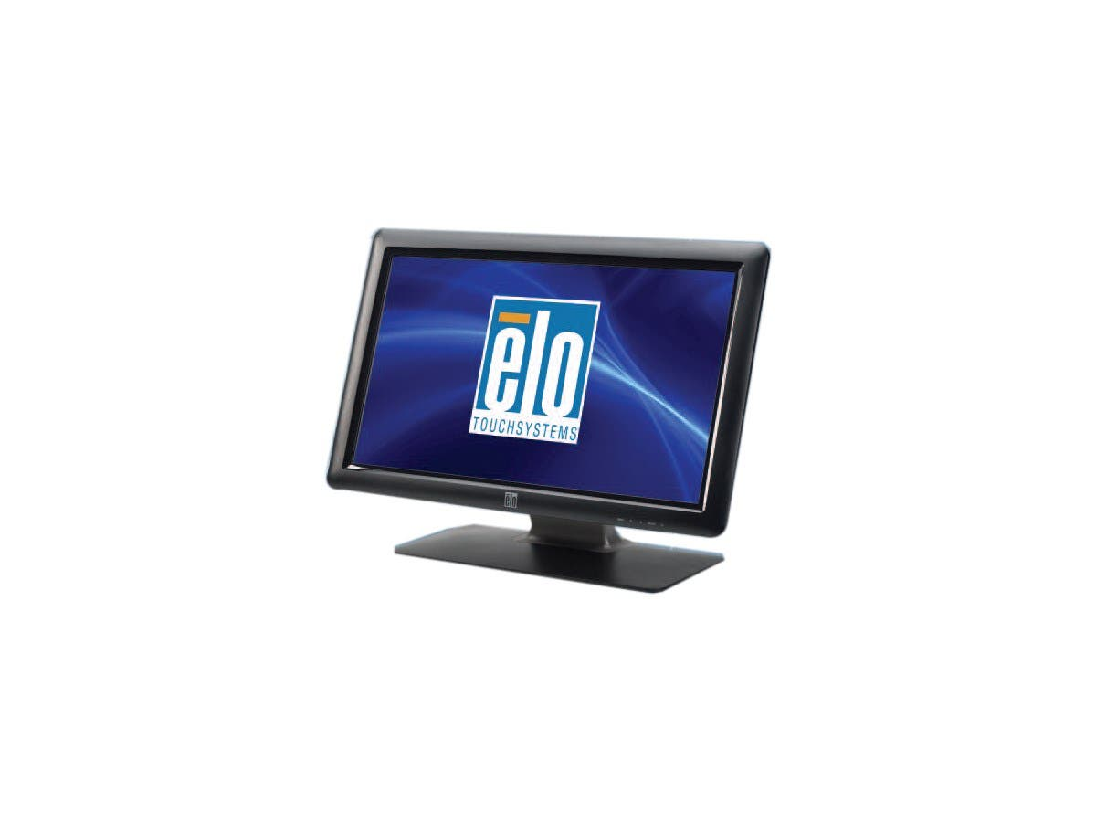 "Elo 2201L 22"" LED LCD Touchscreen Monitor E107766  - 16:9 - 5 ms - Surface Acoustic Wave - Multi-touch Screen - 1920 x 1080 - Full HD - Adjustable Display Angle - 1,000:1 - 250 Nit - Spea-Large-Image-1"