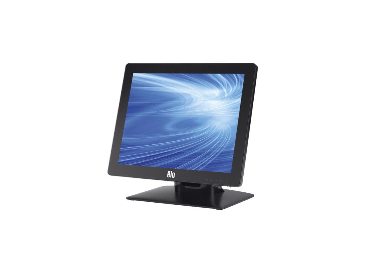 "Elo 1717L 17"" LED LCD Touchscreen Monitor E179069 - 5:4 - 30 ms - Surface Acoustic Wave - 1280 x 1024 - SXGA - Adjustable Display Angle - 800:1 - 250 Nit - USB - VGA - Black"