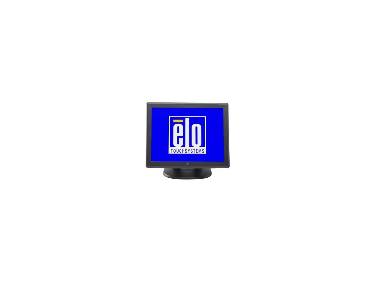 "Elo 1000 Series 1515L Touch Screen Monitor E700813 - 15"" - Surface Acoustic Wave - 1024 x 768 - 4:3 - Dark Gray-Large-Image-1"