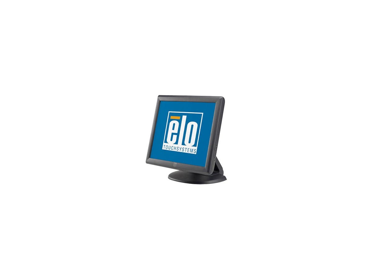 "Elo 1715L Touchscreen LCD Monitor E719160 - 17"" - Surface Acoustic Wave - 1280 x 1024 - 5:4 - Dark Gray-Large-Image-1"