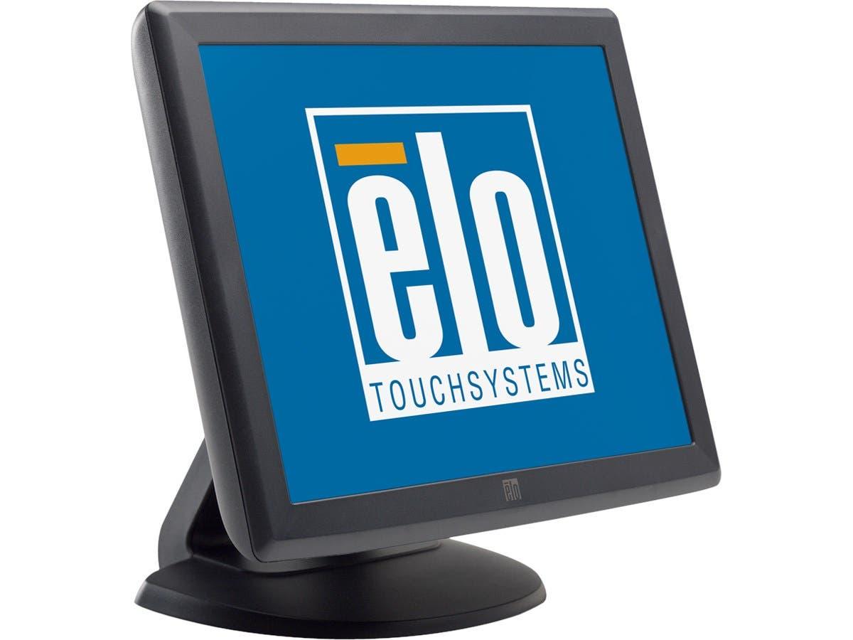 "Elo 1515L 15"" LCD Touchscreen Monitor E210772 - 4:3 - 14.20 ms - 5-wire Resistive - 1024 x 768 - XGA - 16.7 Million Colors - 500:1 - 250 Nit - USB - VGA - Dark Gray-Large-Image-1"