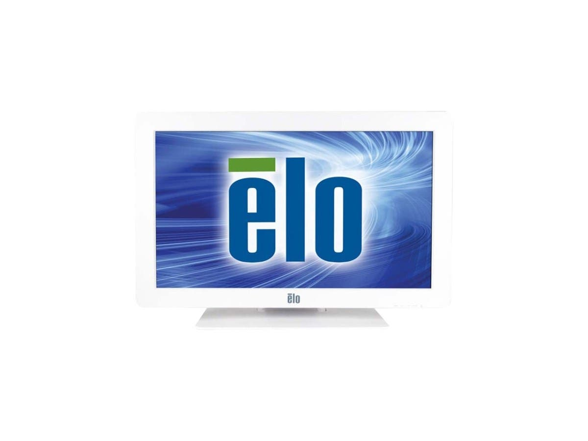 "Elo 2401LM 24"" LED LCD Touchscreen Monitor - E0001406 - 16:9 - 25 ms - IntelliTouch Surface Wave - 1920 x 1080 - Full HD - Adjustable Display Angle - 3,000:1 - 300 Nit - Speakers - DVI - US-Large-Image-1"