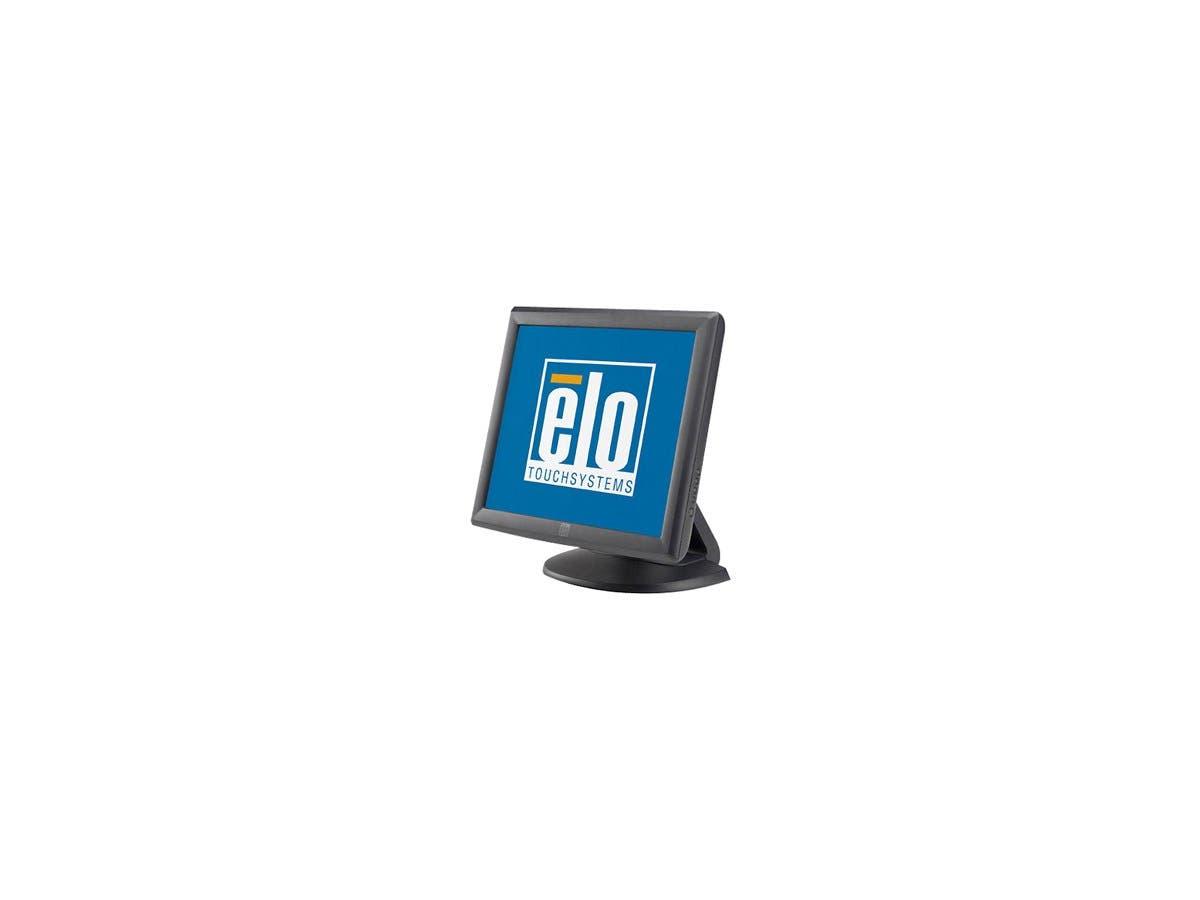 "Elo 1715L Touchscreen LCD Monitor E603162 - 17"" - 5-wire Resistive - 1280 x 1024 - 5:4 - Dark Gray-Large-Image-1"