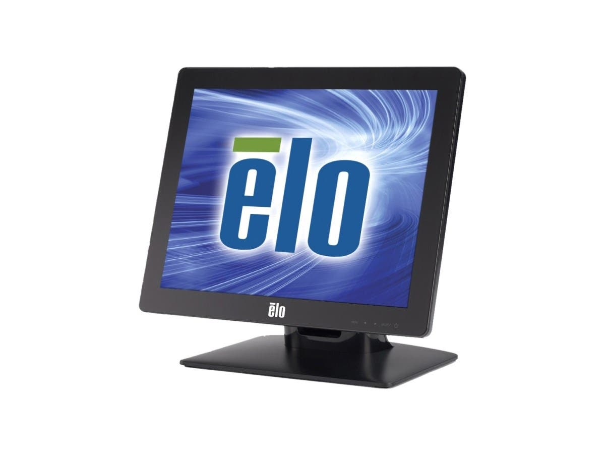 "Elo 1517L 15"" LED LCD Touchscreen Monitor E344758 - 4:3 - 25 ms - IntelliTouch Surface Wave - 1024 x 768 - XGA-2 - Adjustable Display Angle - 16.2 Million Colors - 700:1 - 250 Nit - USB - VGA"
