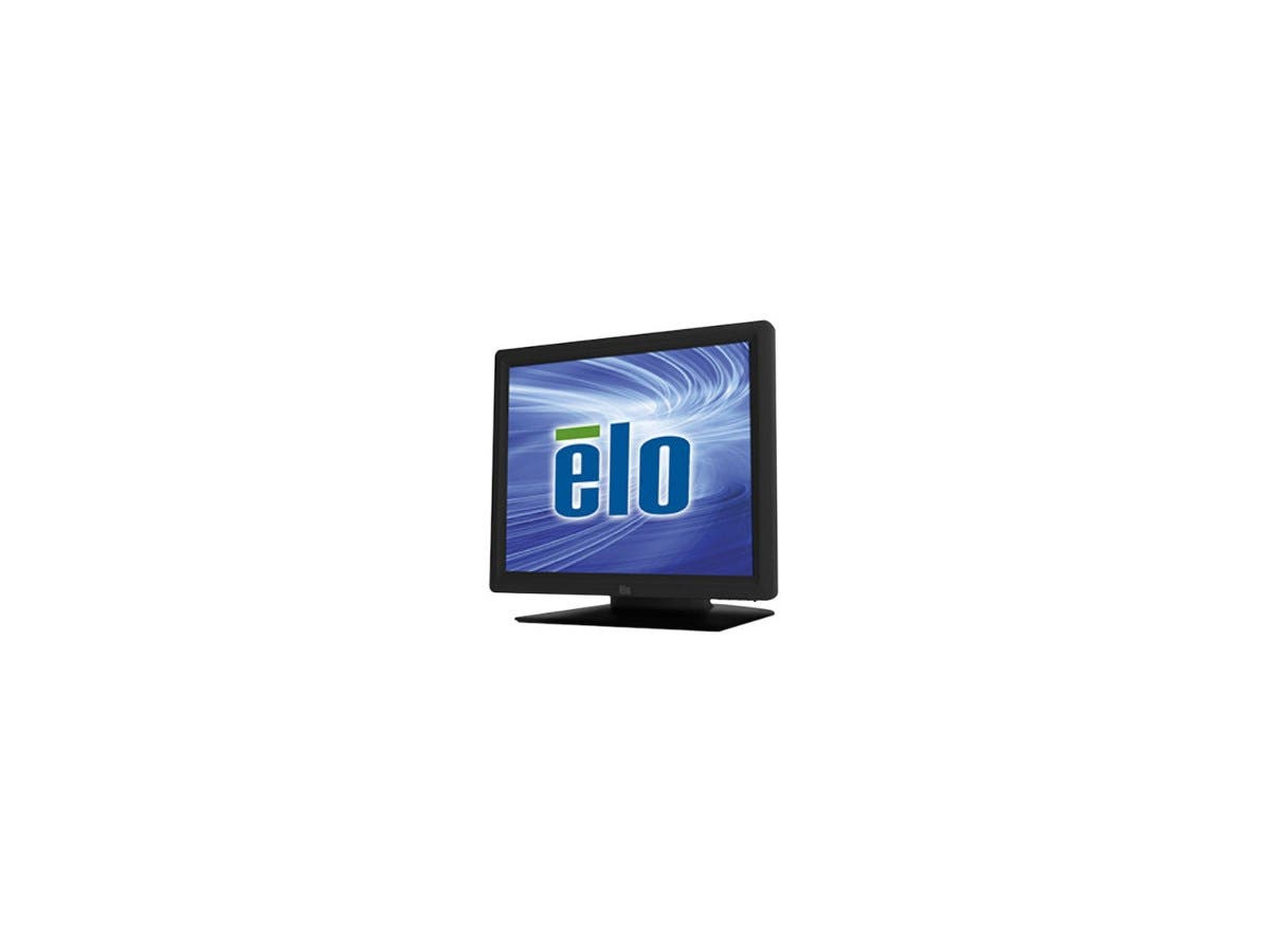 "Elo 1517L 15"" LED LCD Touchscreen Monitor E144246 - 4:3 - 16 ms - 5-wire Resistive - 1024 x 768 - XGA-2 - Adjustable Display Angle - 16.2 Million Colors - 700:1 - 250 Nit - USB - VGA - Black"