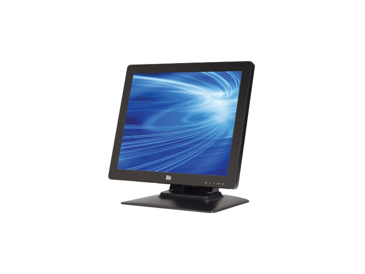 "Elo 1523L 15"" LED LCD Touchscreen Monitor E738607 - 4:3 - 25 ms - IntelliTouch Pro Projected Capacitive - Multi-touch Screen - 1024 x 768 - XGA - 700:1 - 250 Nit - Speakers - DVI - USB --Large-Image-1"