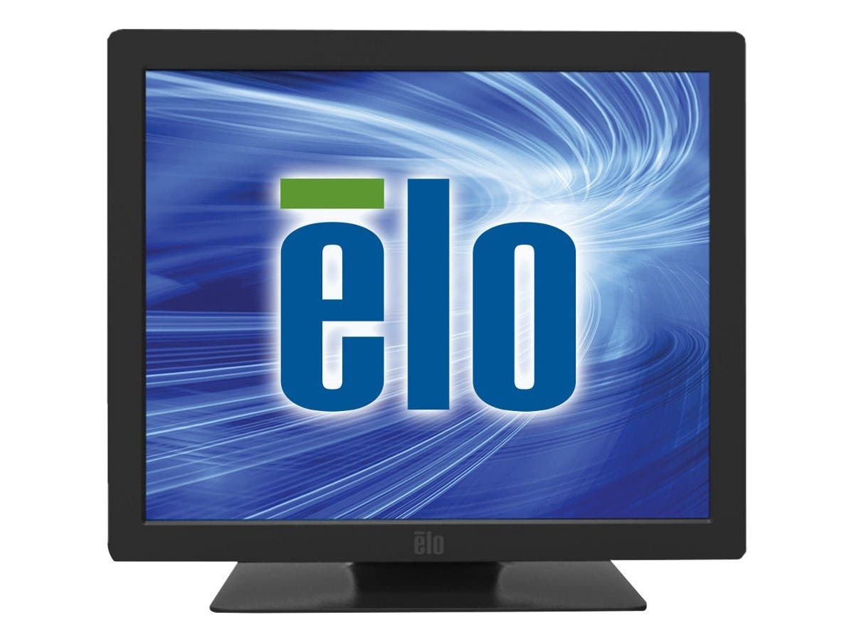 "Elo 1929LM 19"" LED LCD Touchscreen Monitor - 5:4 - 15 ms - 5-wire Resistive - 1280 x 1024 - SXGA - 16.7 Million Colors - 2,000:1 - 300 Nit - Speakers - DVI - HDMI - USB - VGA - Black-Large-Image-1"