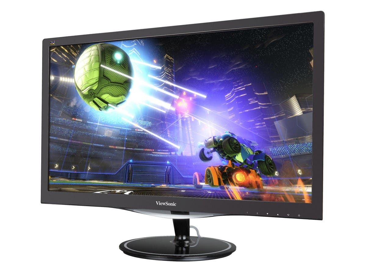 "Viewsonic VX2457-mhd 24"" LED LCD Monitor - 16:9 - Adjustable Display Angle - 1920 x 1080 - 300 Nit - 80,000,000:1 - Full HD - Speakers - HDMI - VGA - DisplayPort - 24 W - Black"