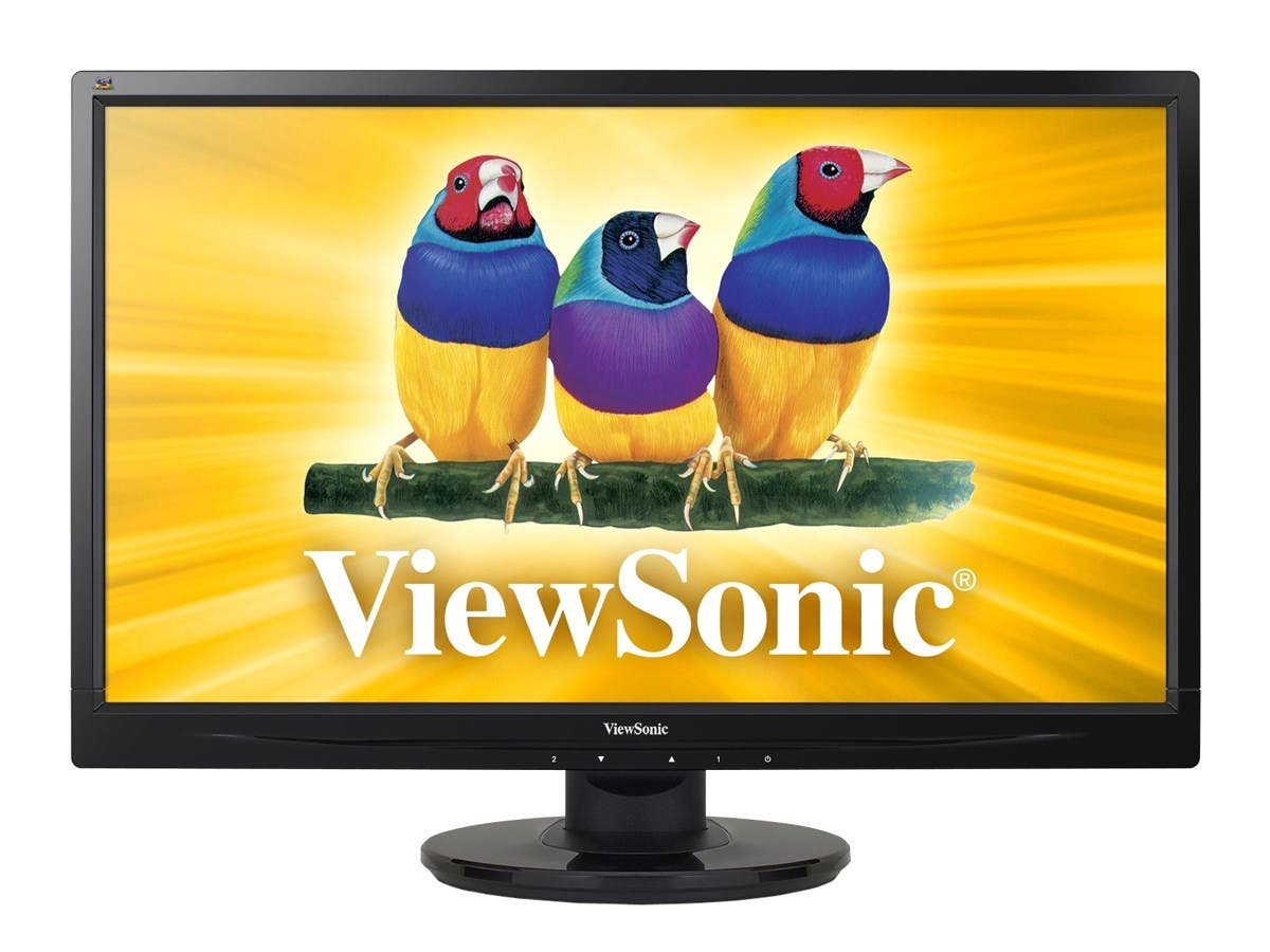 ViewSonic VA2246M-LED 22-Inch LED-Lit LCD Monitor, Full HD 1080p, DVI/VGA, Speakers, VESA