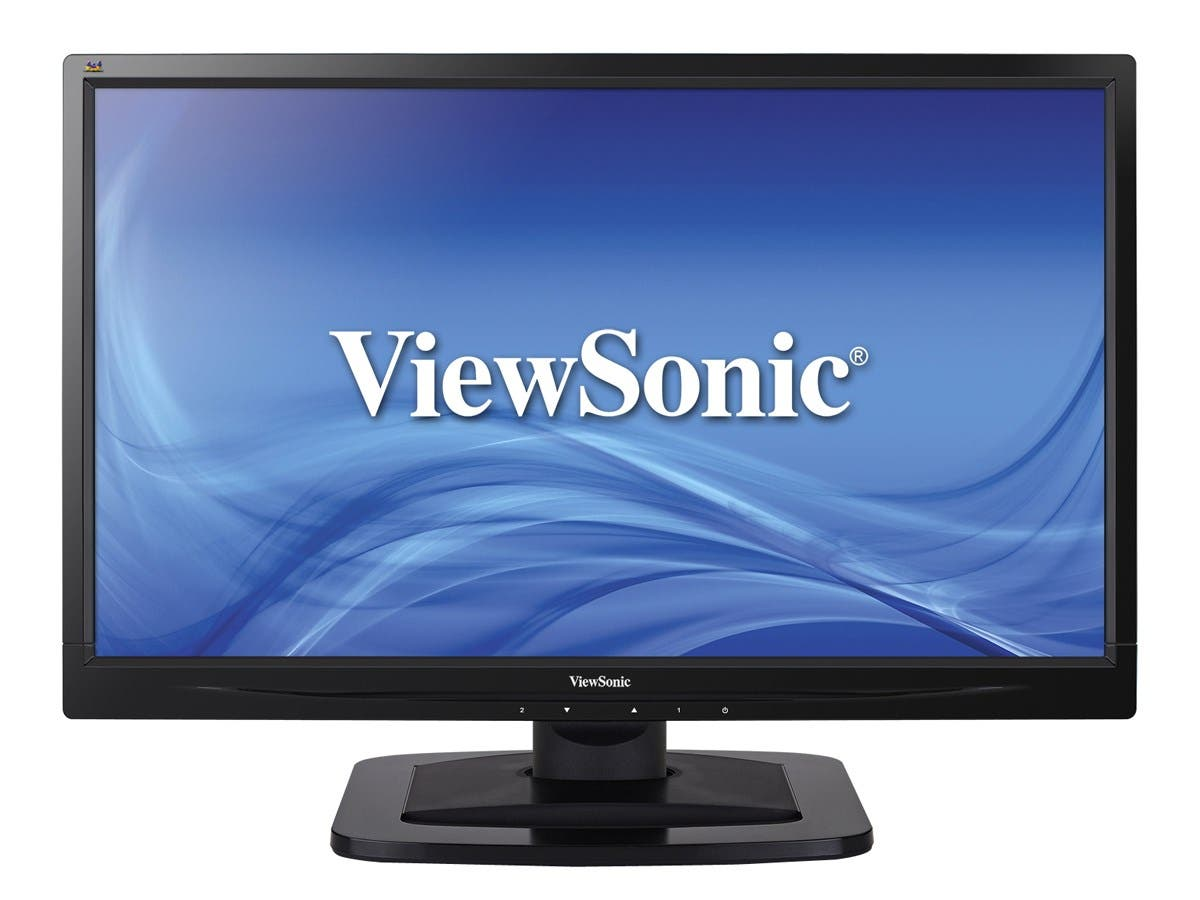 "ViewSonic VA2249S Black 22"" IPS wide viewing angle LED Backlight LCD 16:9 Full HD 1080P Monitor, 1000:1, 250cd/m2, 178/178 Viewing Angles, DVI, D-Sub, VESA mountable"