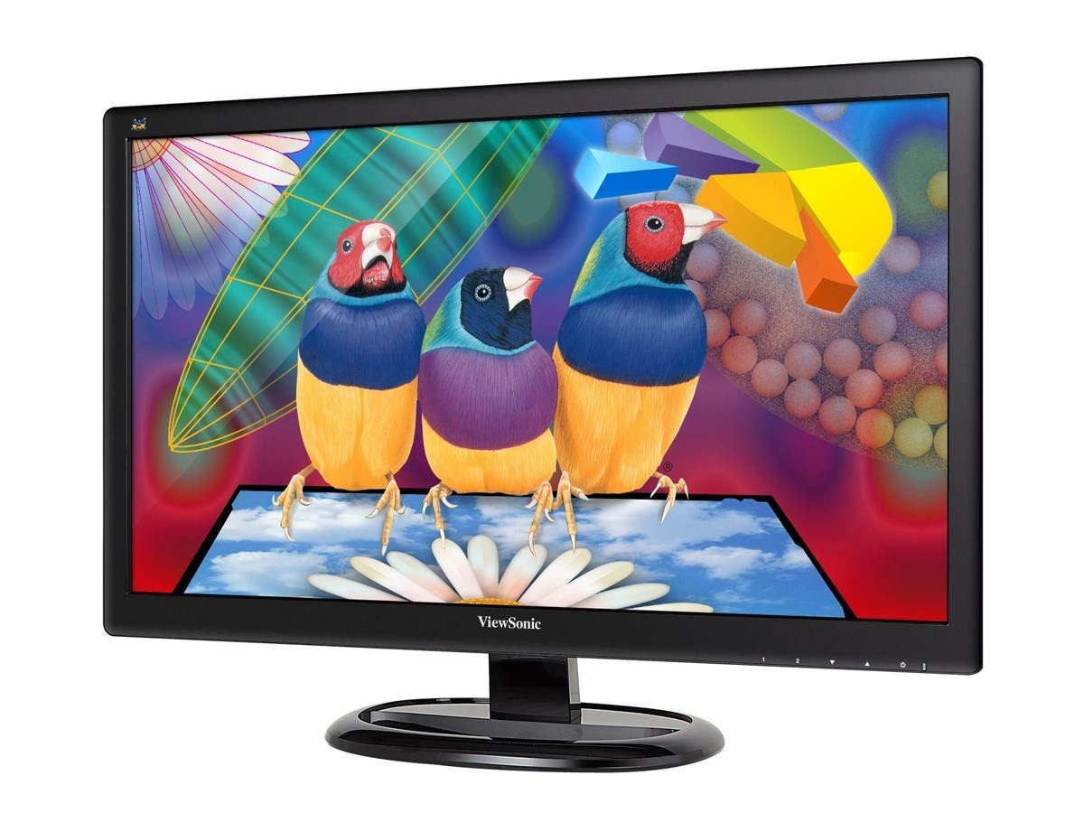 "Viewsonic Value VA2265Smh 21.5"" LED LCD Monitor - 16:9 - 5 ms - 1920 x 1080 - 16.7 Million Colors - 250 Nit - 3,000:1 - Full HD - Speakers - HDMI - VGA - 30 W - ENERGY STAR, RoHS-Large-Image-1"