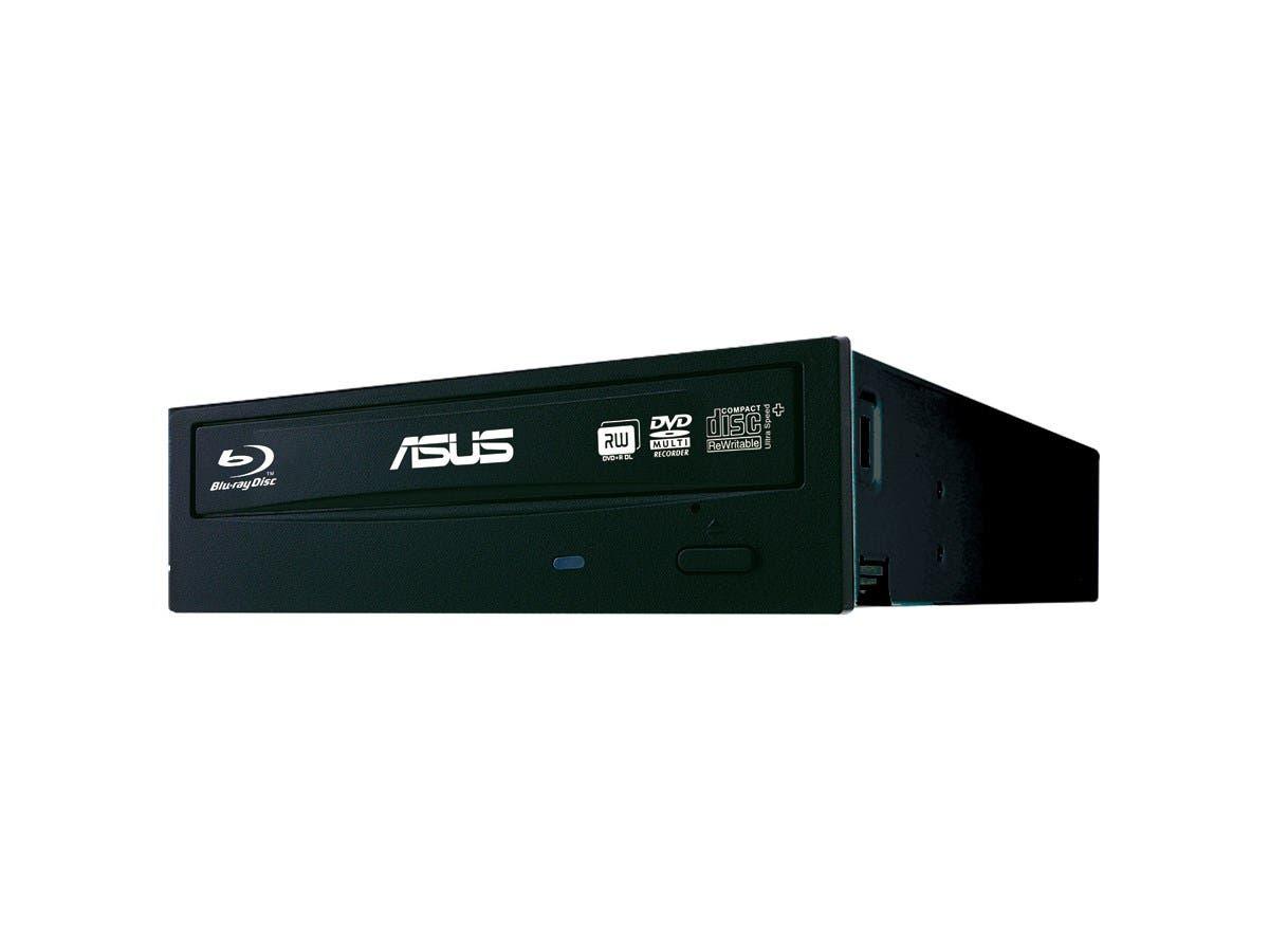 ASUS Black 16X BD-R 2X BD-RE 16X DVD+R 5X DVD-RAM 12X BD-ROM SATA Blu-ray Burner BW-16D1HT