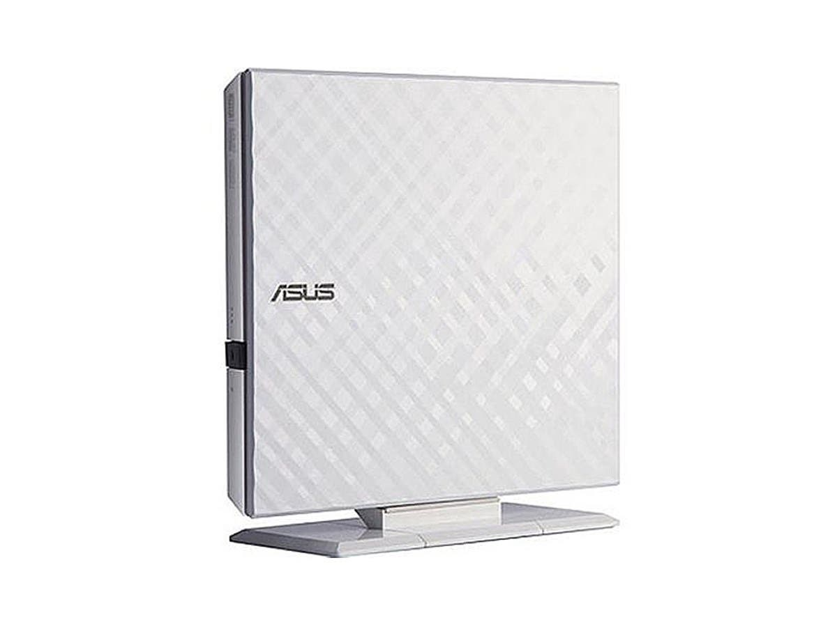ASUS USB 2.0 8x External DVDRW White Slim Portable Model SDRW-08D2S-U W G ACI