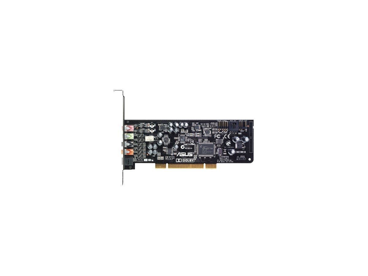 Asus XONAR DG Sound Board - 24 bit DAC Data Width - 5.1 Sound Channels - Internal - C-Media CMI8786 - PCI - 105 dB, 103 dB - S/PDIF Out-Large-Image-1