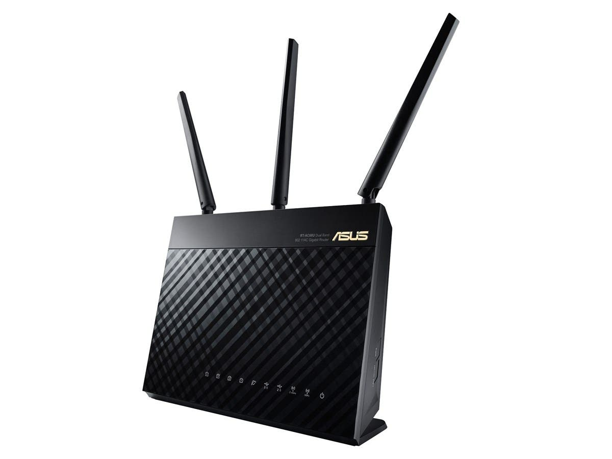 ASUS RT-AC68U Wireless-AC1900 Dual Band Gigabit Router IEEE 802.11ac, IEEE 802.11a/b/g/n AiProtection with Trend Micro for Complete Network Security