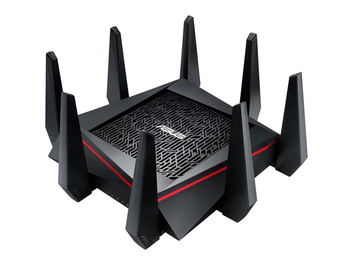 ASUS RT-AC5300 Wireless AC5300 Tri-Band MU-MIMO Gigabit Router, AiProtection with Trend Micro for Complete Network Security-Large-Image-1