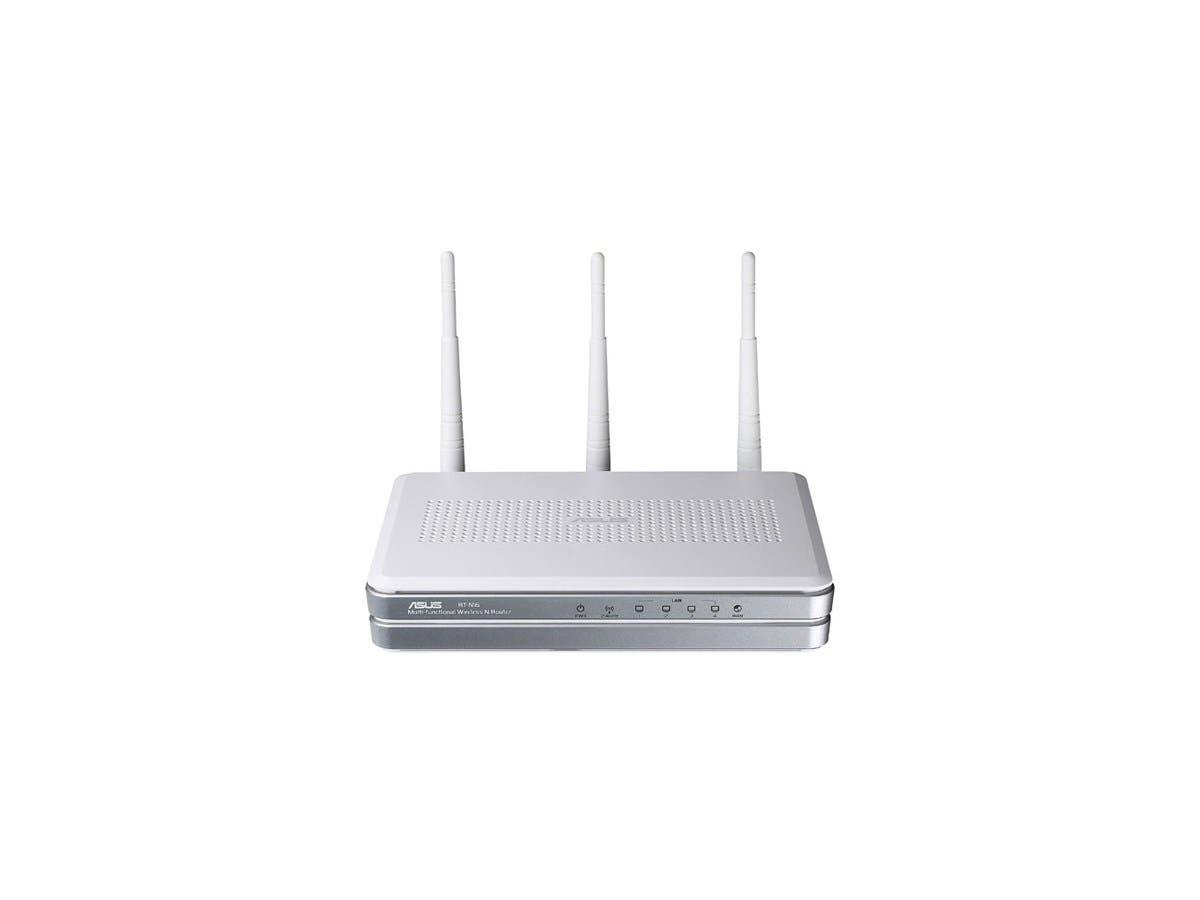 ASUS - RT-N16 Gigabit Wireless N Router - 4 x 10/100/1000Base-TX Network LAN, 1 x 10/100/1000Base-TX Network WAN - IEEE 802.11n (draft) - 300Mbps-Large-Image-1