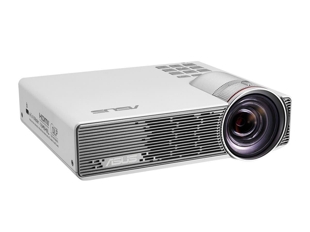 Asus P3B 3D Ready DLP Projector - 16:10 - Ceiling, Rear, Front - LED - 30000 Hour Normal Mode - 1280 x 800 - WXGA - 100,000:1 - 800 lm - HDMI - USB