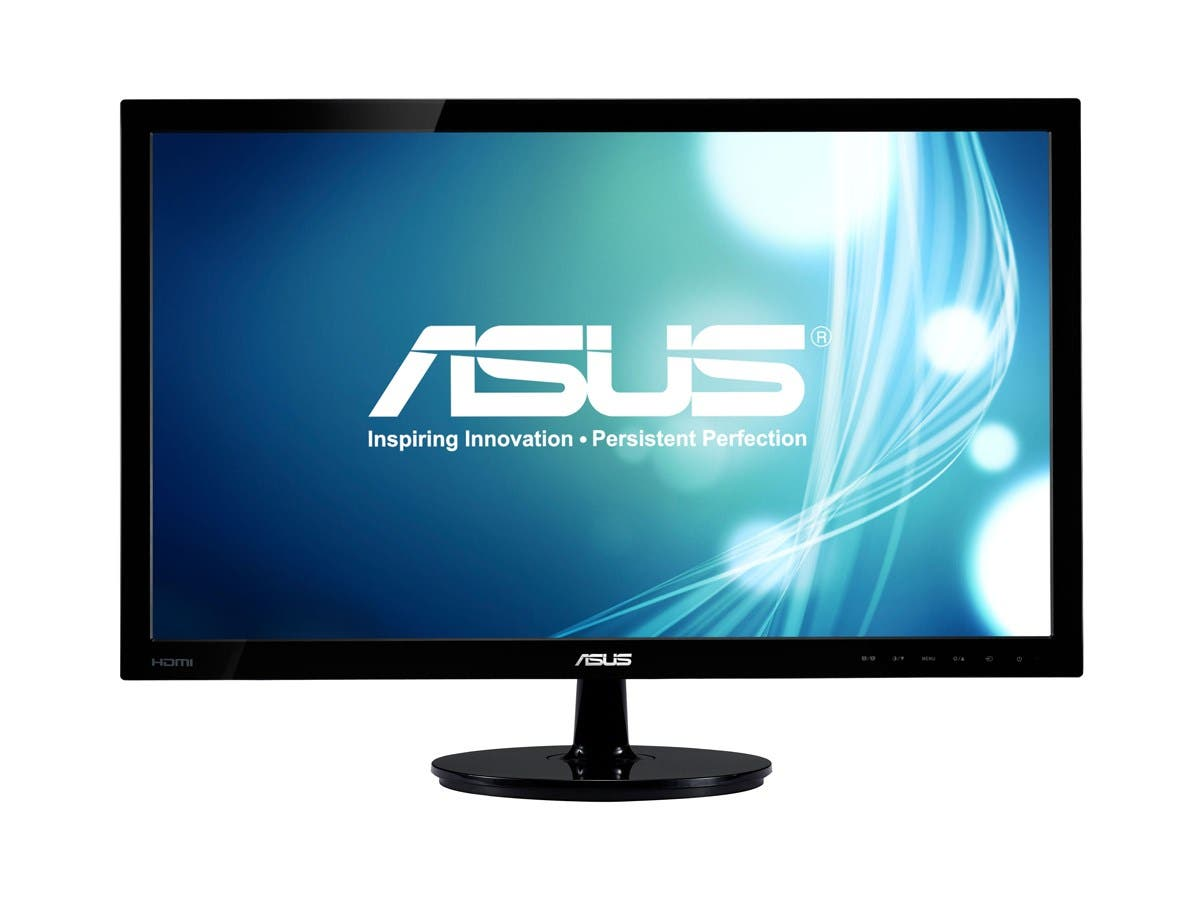"ASUS VS Series VS238H-P Black 23"" 2ms HDMI LED Backlight Widescreen LCD Monitor 250 cd/m2 50,000,000:1"