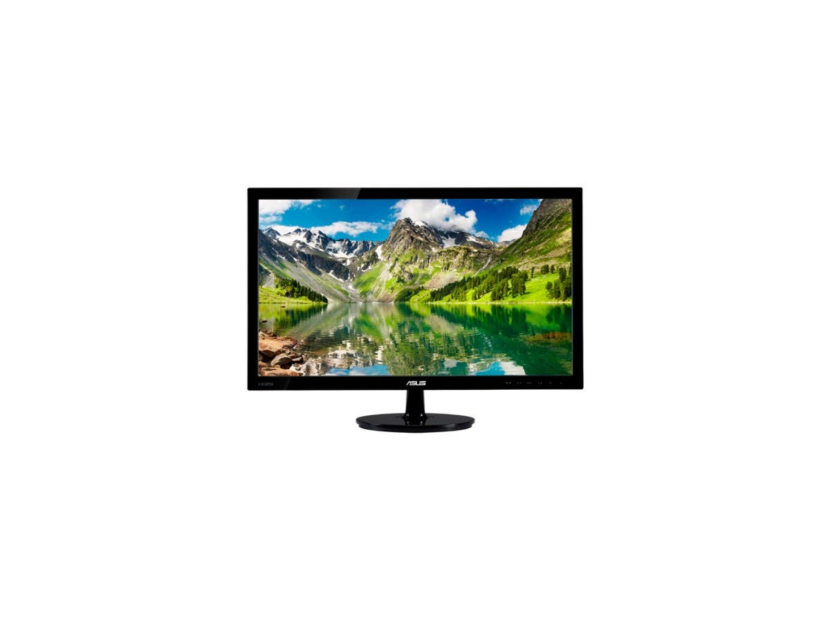 "ASUS VS248H-P Black 24"" 2ms HDMI LED Backlight Widescreen LCD Monitor 250 cd/m2 ASCR 50,000,000:1-Large-Image-1"