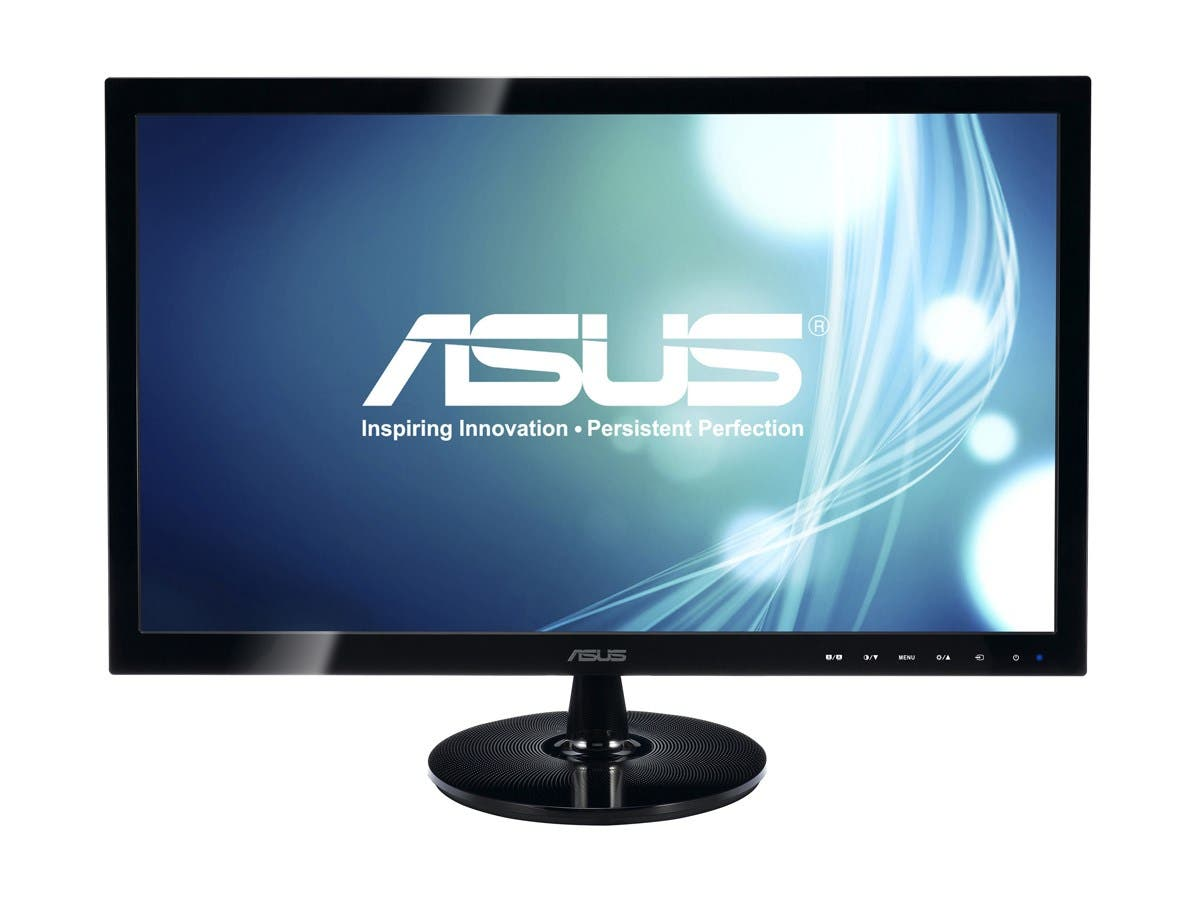 "ASUS VS Series VS228H-P Black 21.5"" 5ms HDMI LED Backlight Widescreen LCD Monitor 250 cd/m2 50000000:1 (ASCR)"