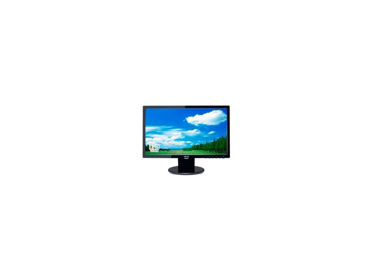 "ASUS VE198T Black 19"" 5ms LED BackLight LCD Monitor w/ Speakers 250 cd/m2 ASCR 10,000,000:1-Large-Image-1"