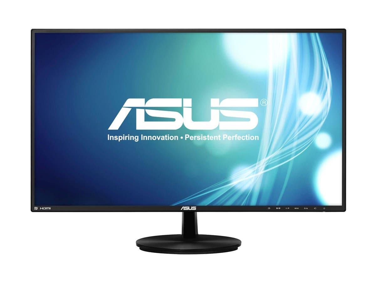 "ASUS VN279Q Black 27"" 5ms (GTG) HDMI Widescreen LED Backlight Ultra Wide View Monitor 300 cd/m2 100,000,000:1-Large-Image-1"