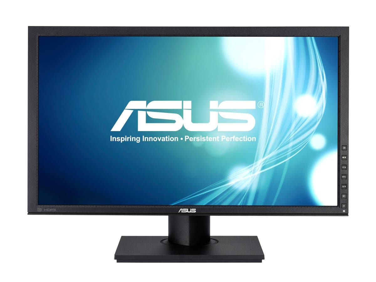 Asus PB Series PB238Q Black 6ms(GTG) IPS panel HDMI Widescreen LED Backlight Monitor,250 cd/m2 ,ASCR 80000000:1 , Built-in Speakers, Height and Pivot adjustable-Large-Image-1
