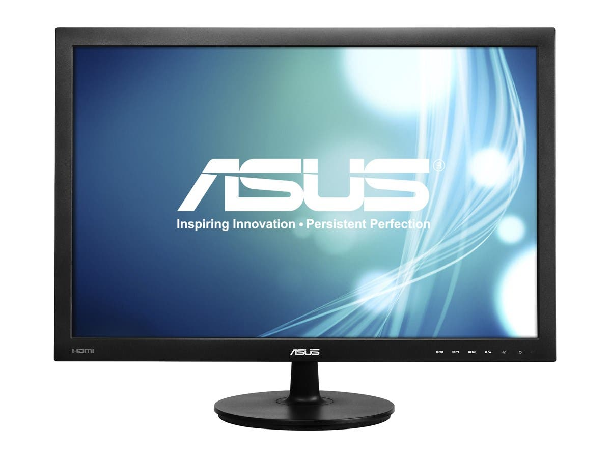 "ASUS VS24AH-P Black 24"" 5ms (GTG) HDMI Widescreen LED Backlight LCD Monitor IPS 300 cd/m2 80,000,000:1-Large-Image-1"