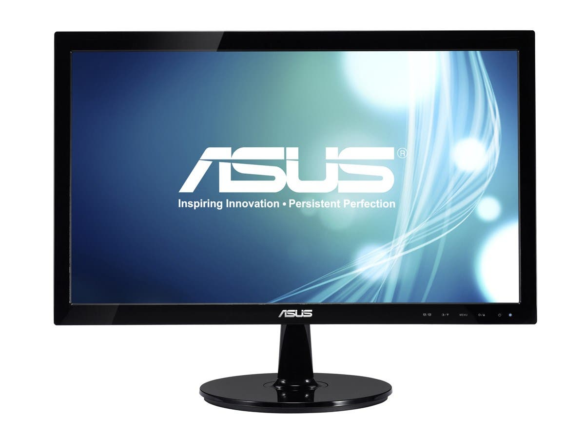"Asus VS208N-P 20"" LED LCD Monitor - 16:9 - 5 ms - Adjustable Display Angle - 1600 x 900 - 16.7 Million Colors - 250 Nit - 50,000,000:1 - HD+ - DVI - VGA - 14 W - Black - EPEAT Gold-Large-Image-1"