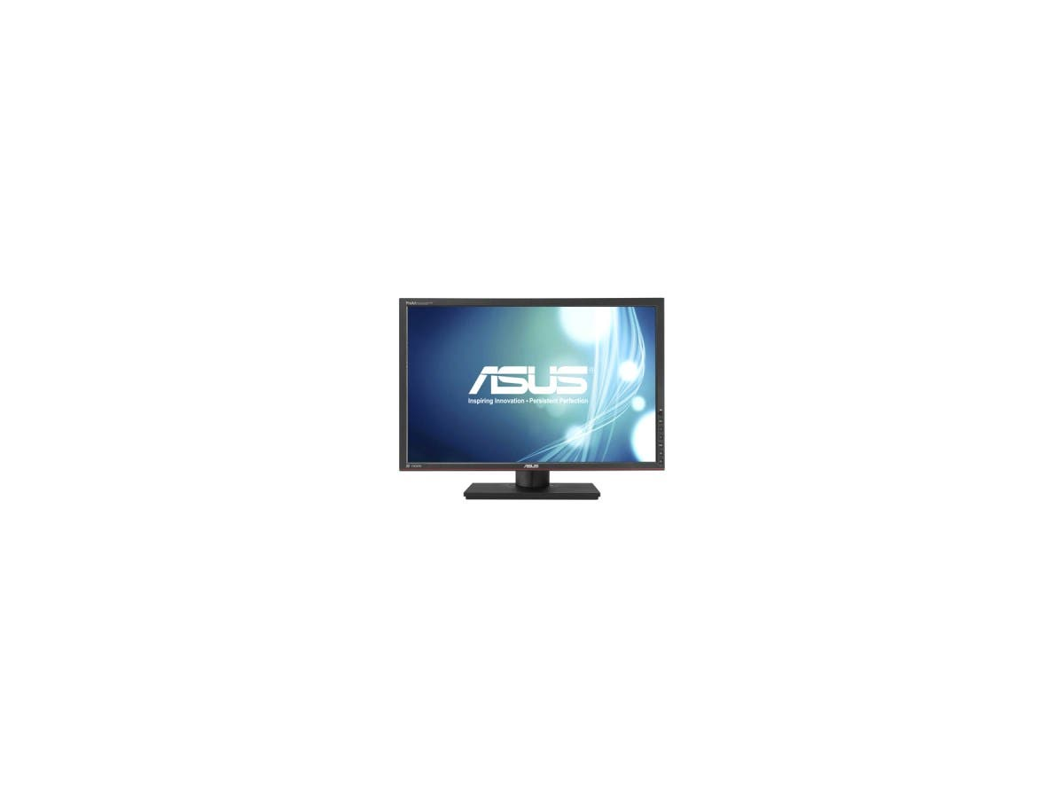 "ASUS PA248Q Black 24.1"" 6ms (GTG) HDMI Widescreen LED Monitor 300 cd/m2 ASCR 80,000,000:1, IPS Panel, Height pivot swivel adjustable-Large-Image-1"
